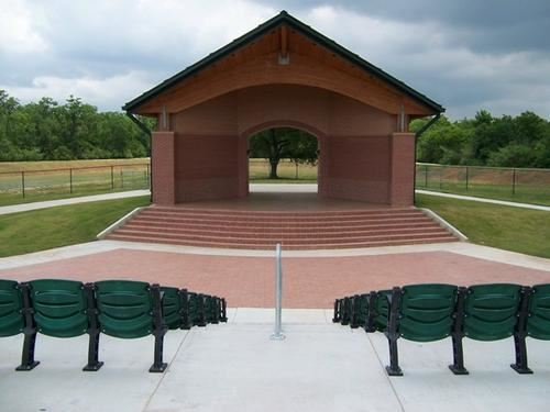 picture of the Evelyn B. Newman Amphitheater in centennial park